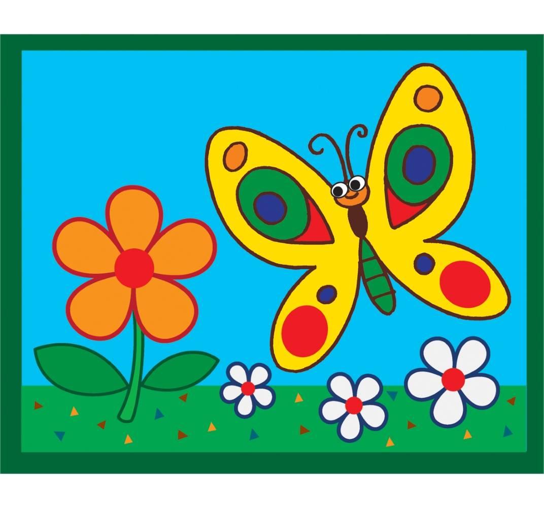 Цветной картинки для детей, словами помним