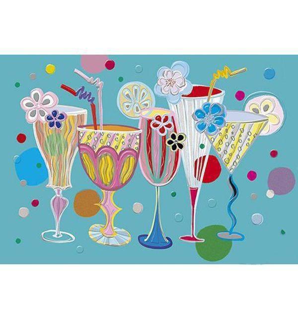 День рождения девочки вечеринка открытки